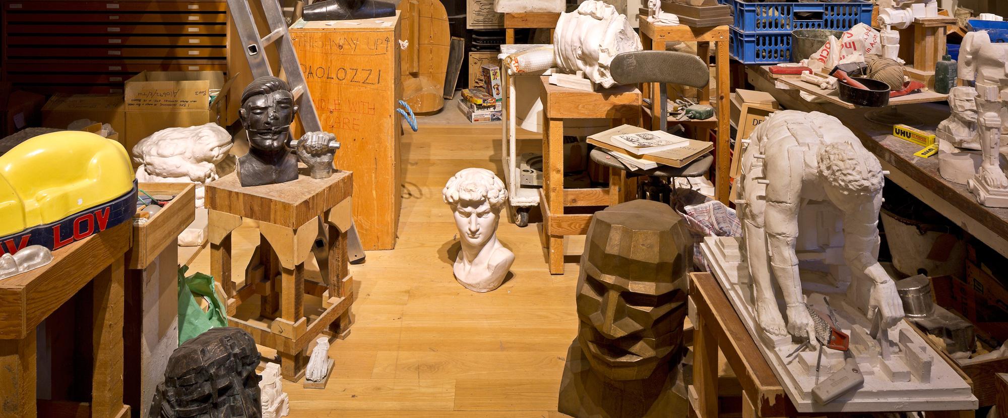 Paolozzi Studio | National Galleries of Scotland