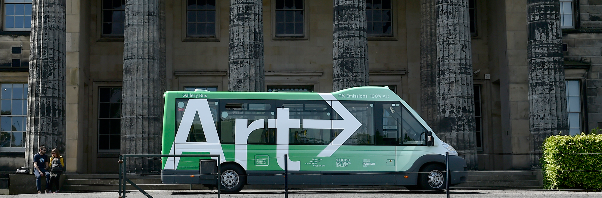 Gallery bus | National Galleries of Scotland