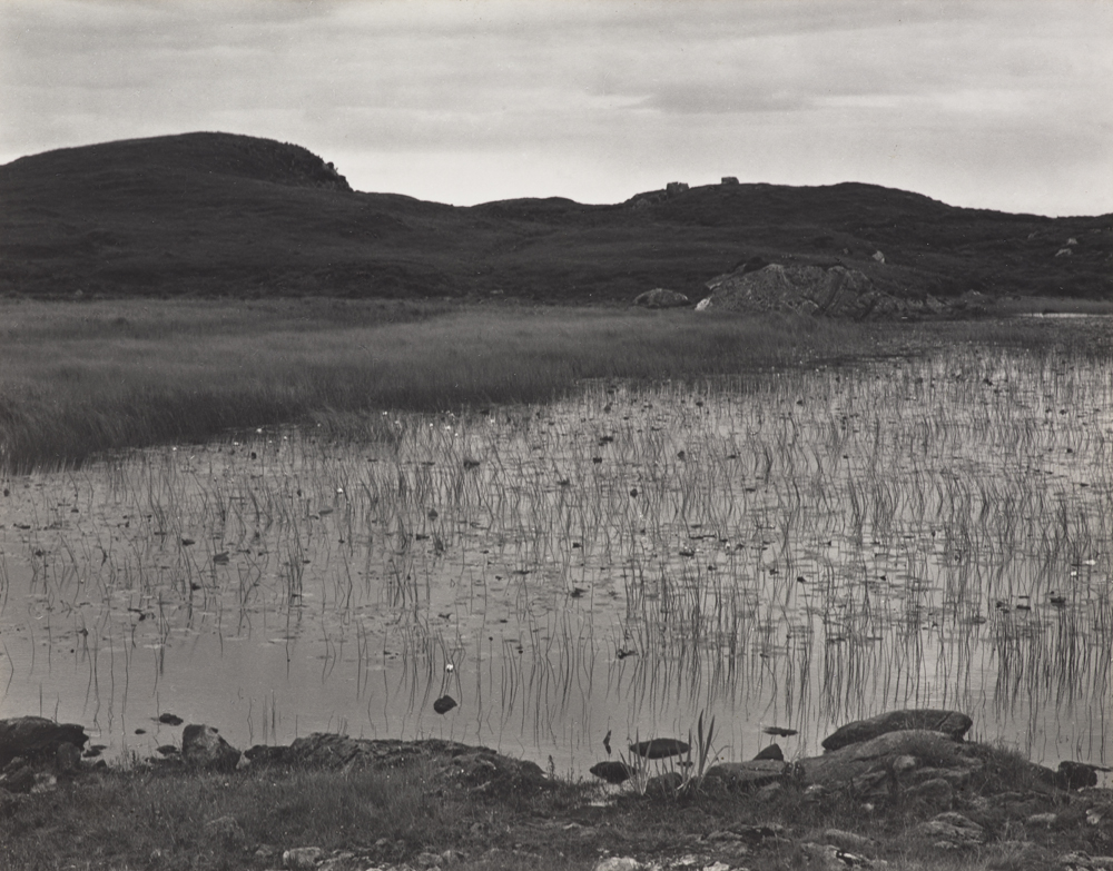 Paul Strand, Loch and Lilies, South Uist, Hebrides
