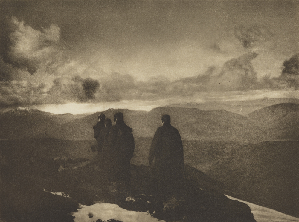 James Craig Annan, The Dark Mountains