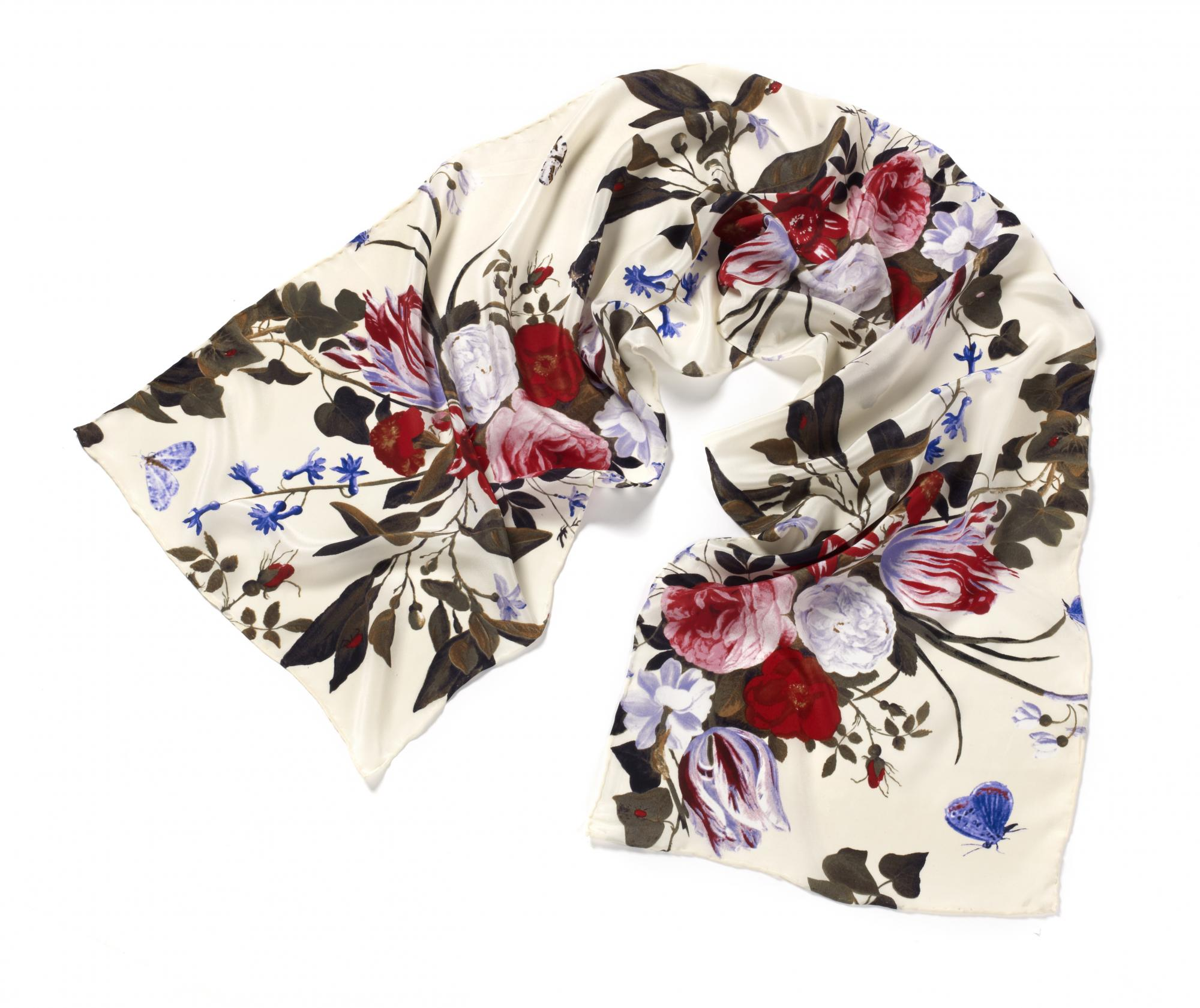 Still Life by Jan van Kessel silk scarf