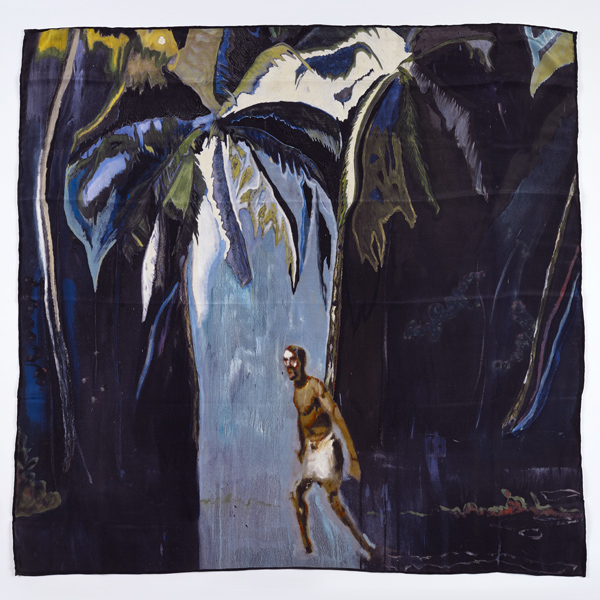 Pelican by Peter Doig silk scarf
