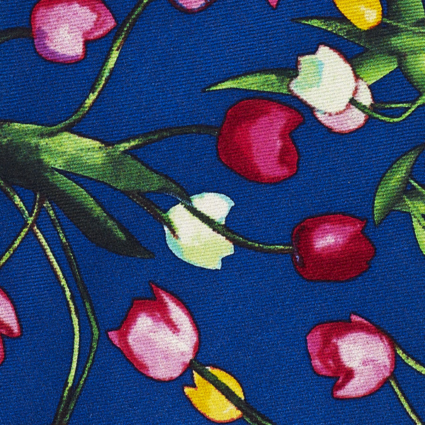 Tulips | The Blue Jug by Samuel John Peploe blue silk tie