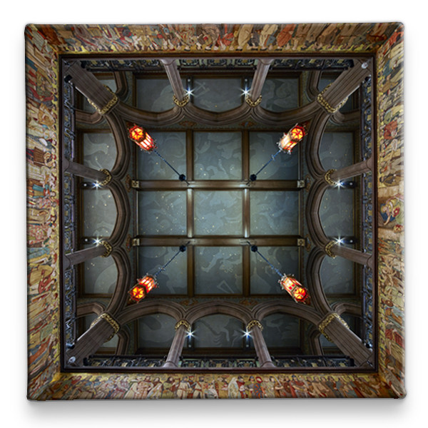 Scottish National Portrait Gallery Ceiling Ceramic Coaster