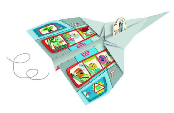 Djeco Origami Aircraft