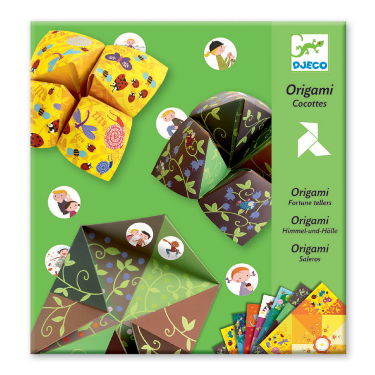 Origami fortune tellers pack