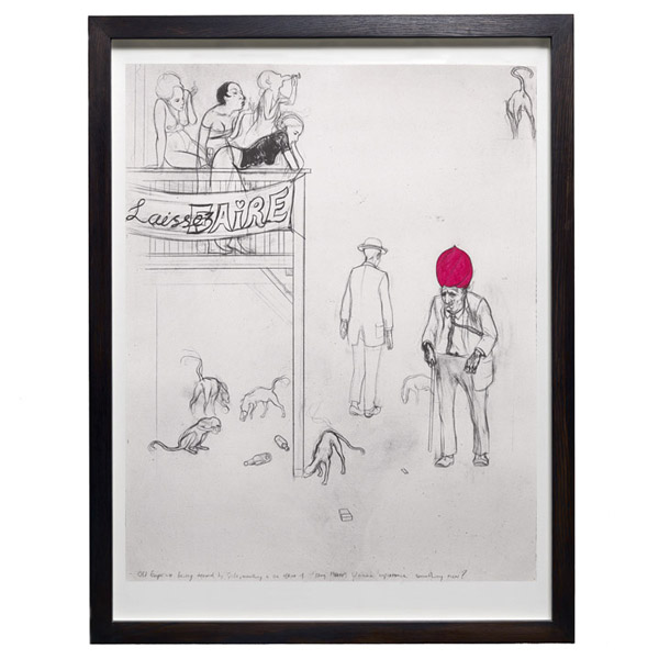 Laissez Faire by Charles Avery limited edition print