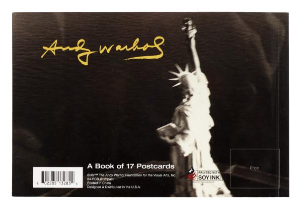 Andy Warhol Postcard Book