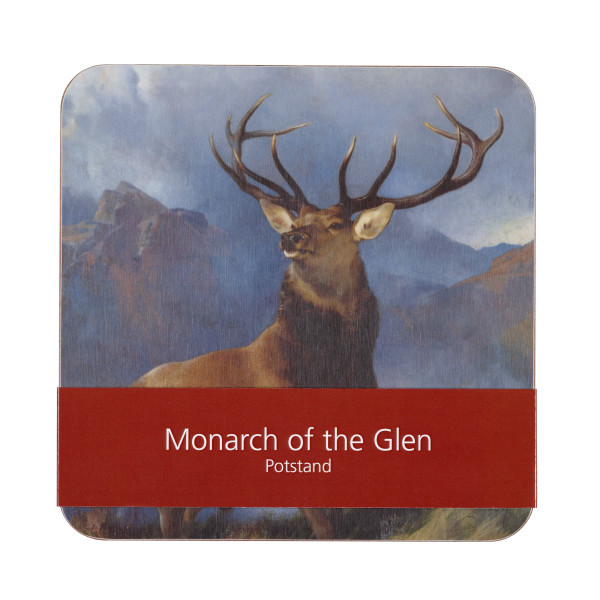 The Monarch of the Glen by Edwin Landseer pot stand