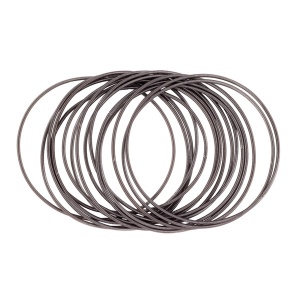 Etnika Slinky Dark Grey Bracelet