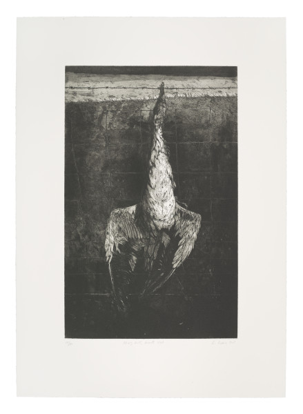 Hung Gull, North Uist Ken Currie Limited Edition Etching