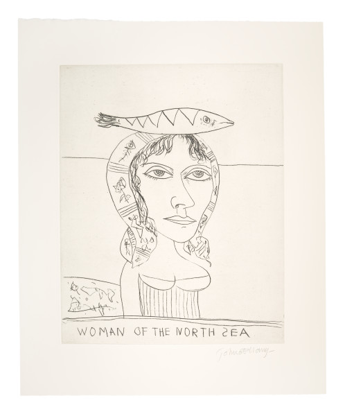 Woman of the North Sea John Bellany Limited Edition Portfolio Set