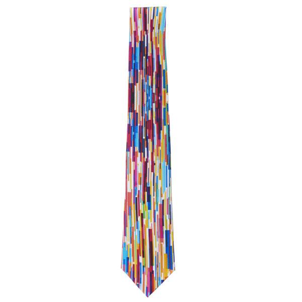 Colour Bars Silk Tie