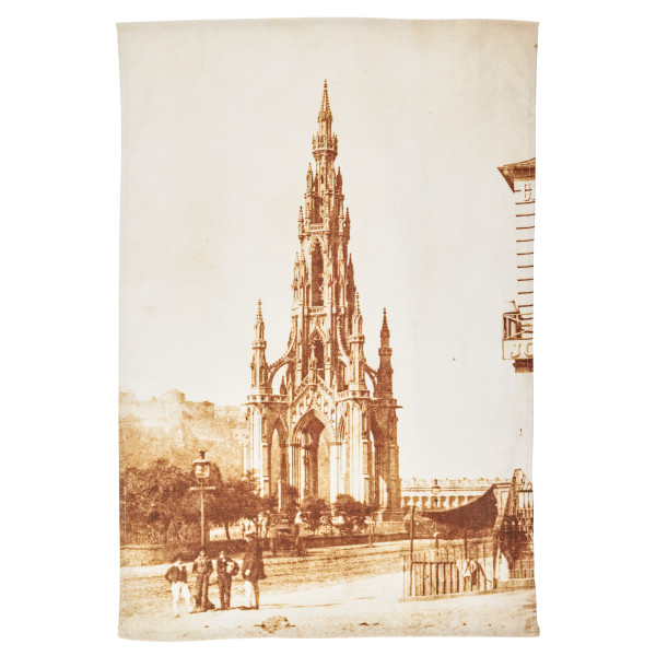 The Scott Monument by Hill & Adamson tea towel