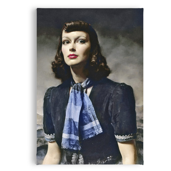 By the Hills Gerald Leslie Brockhurst Magnet