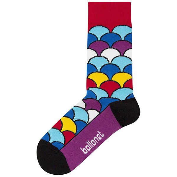 Fan colourful unisex cotton socks (size 7.5-11.5)