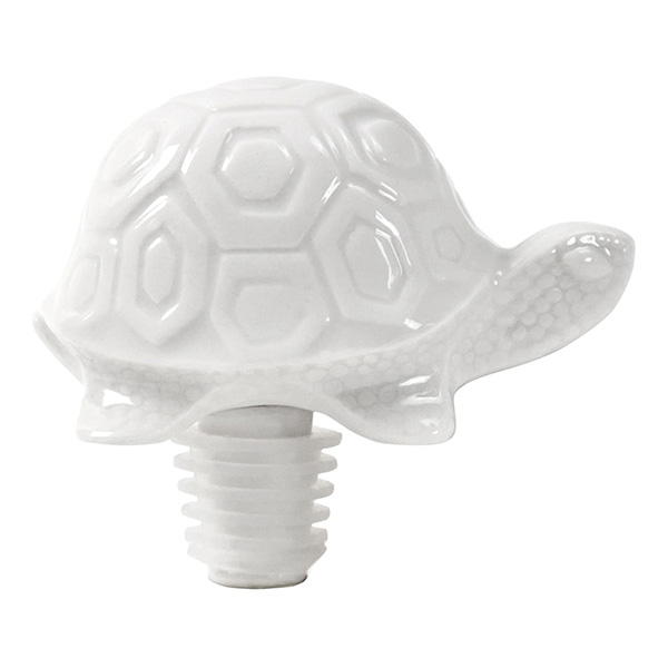 The tortoise and the hare bottle stopper set by Jonathan Adler