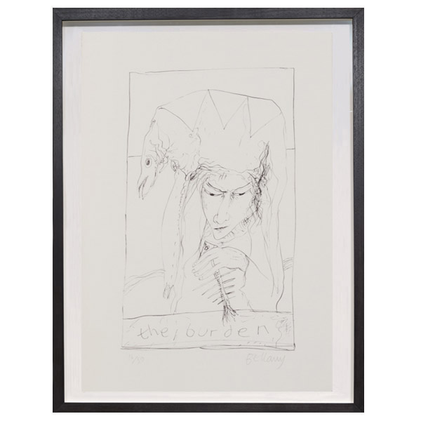 The Burden by John Bellany limited edition print