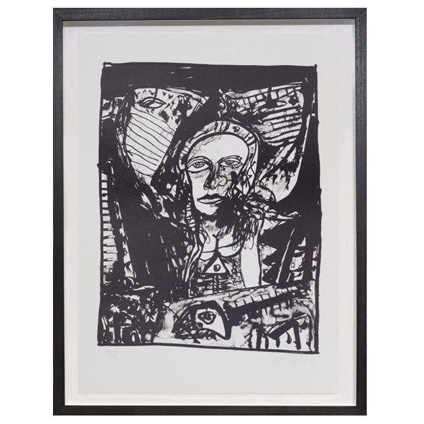 Lament of the Crucified Fish by John Bellany limited edition print