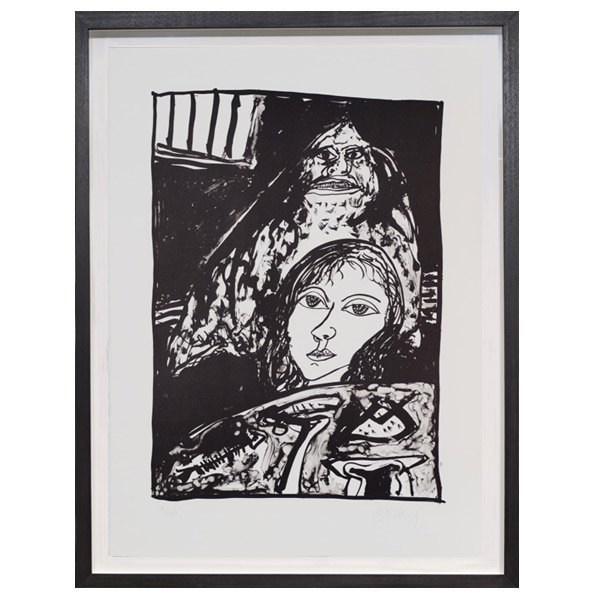 Death Knell Rings Out John Bellany Limited Edition Print