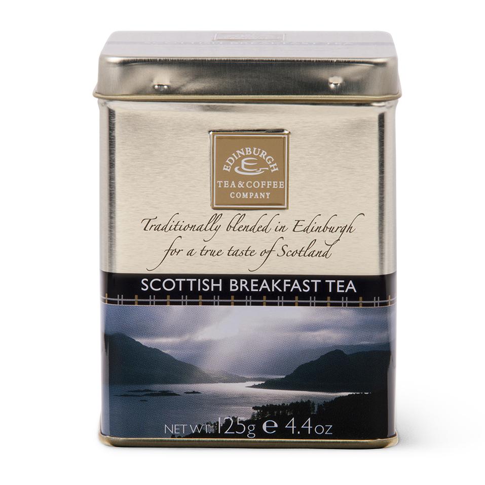 Loose Scottish Breakfast Tea Caddy