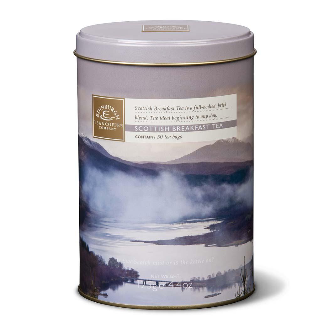 Scottish Breakfast Tea Caddy
