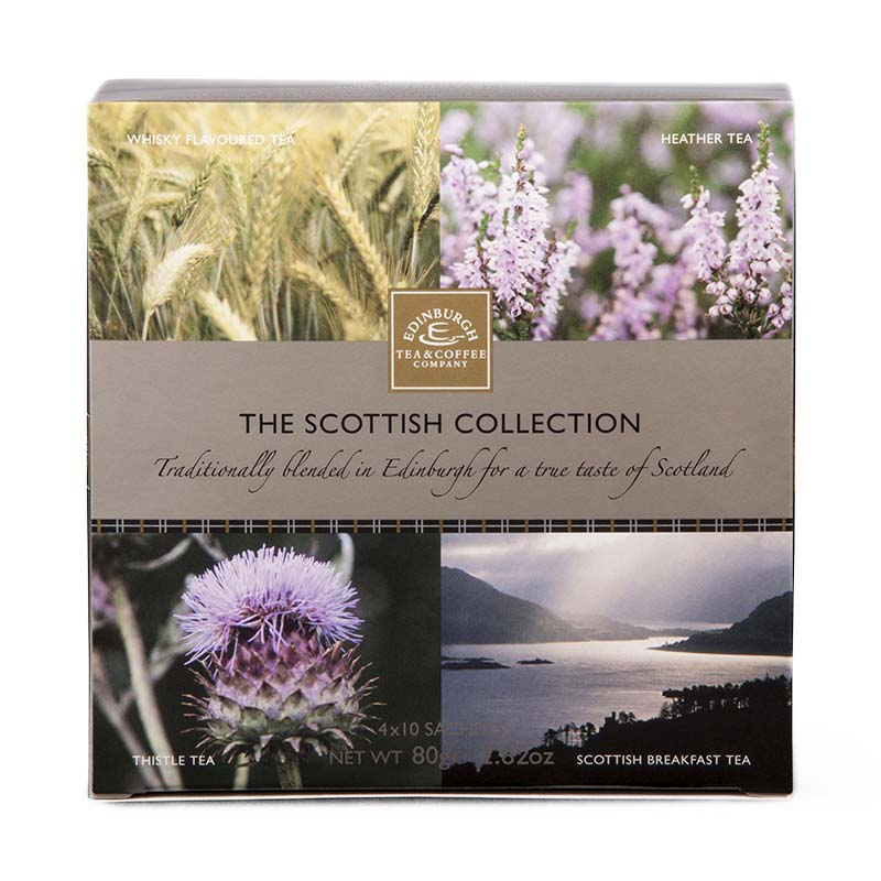 The Scottish Collection 4 Tea Pack