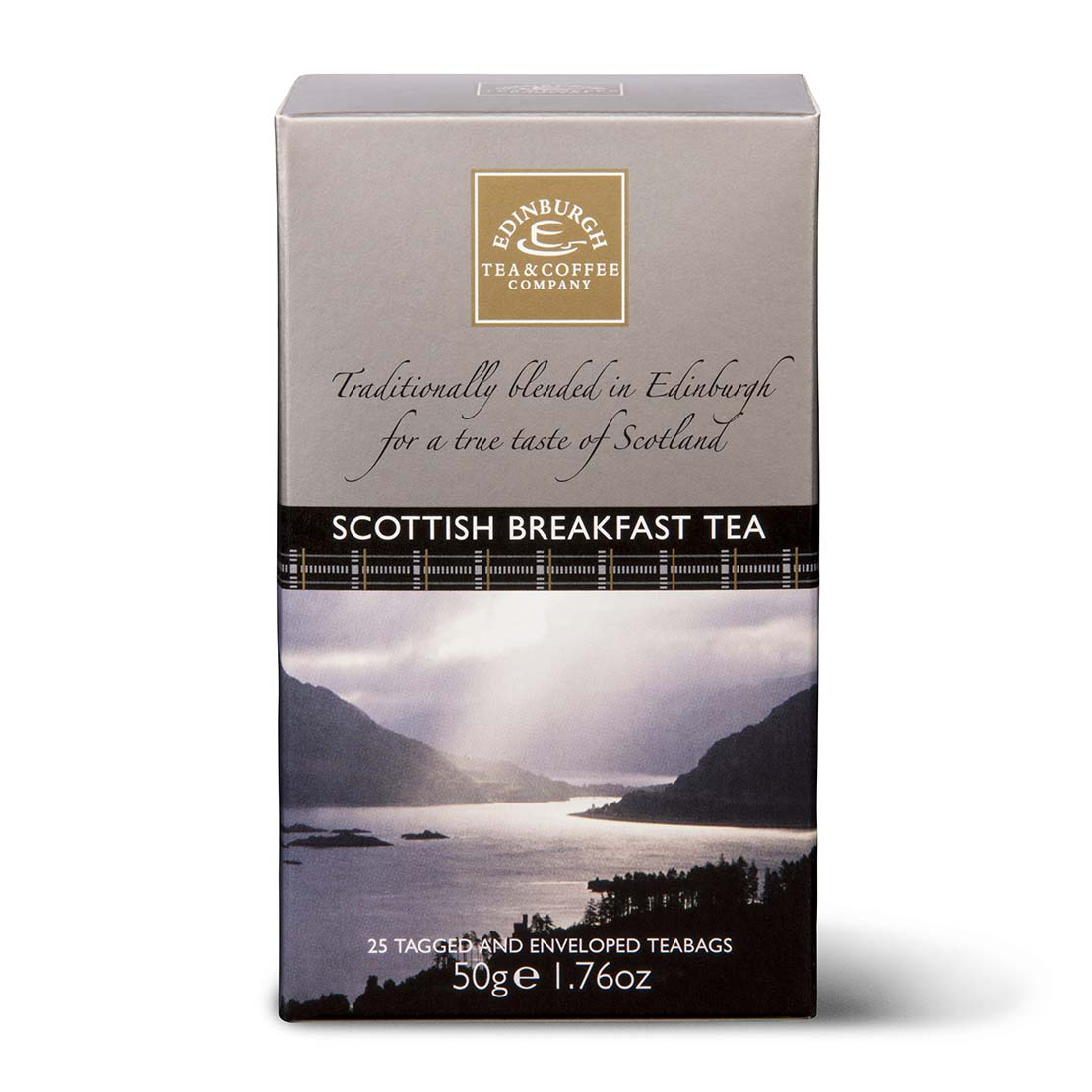 Scottish Breakfast Tea Pack 25 Teabags