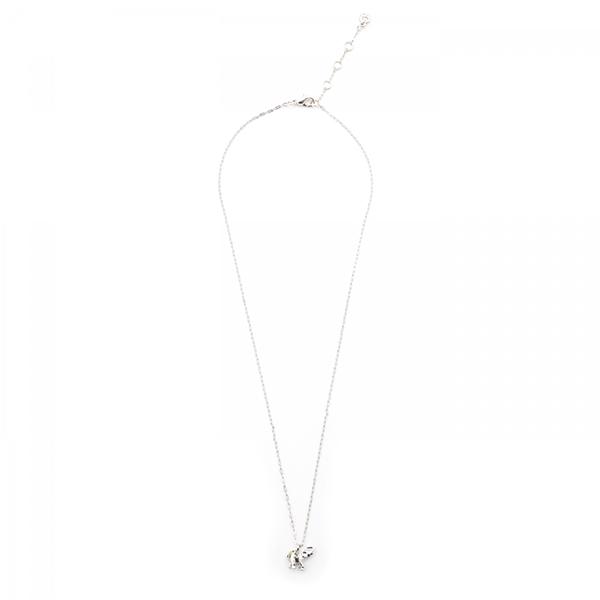 Tiny elephant pendant necklace