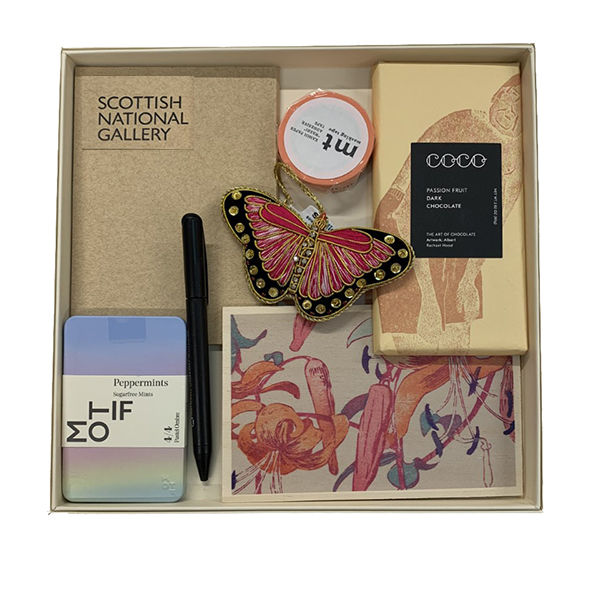 Mabel Royds floral inspired gift package