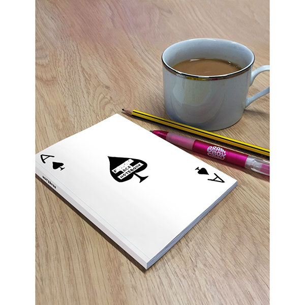 F****** Ace by David Shrigley A6 notebook