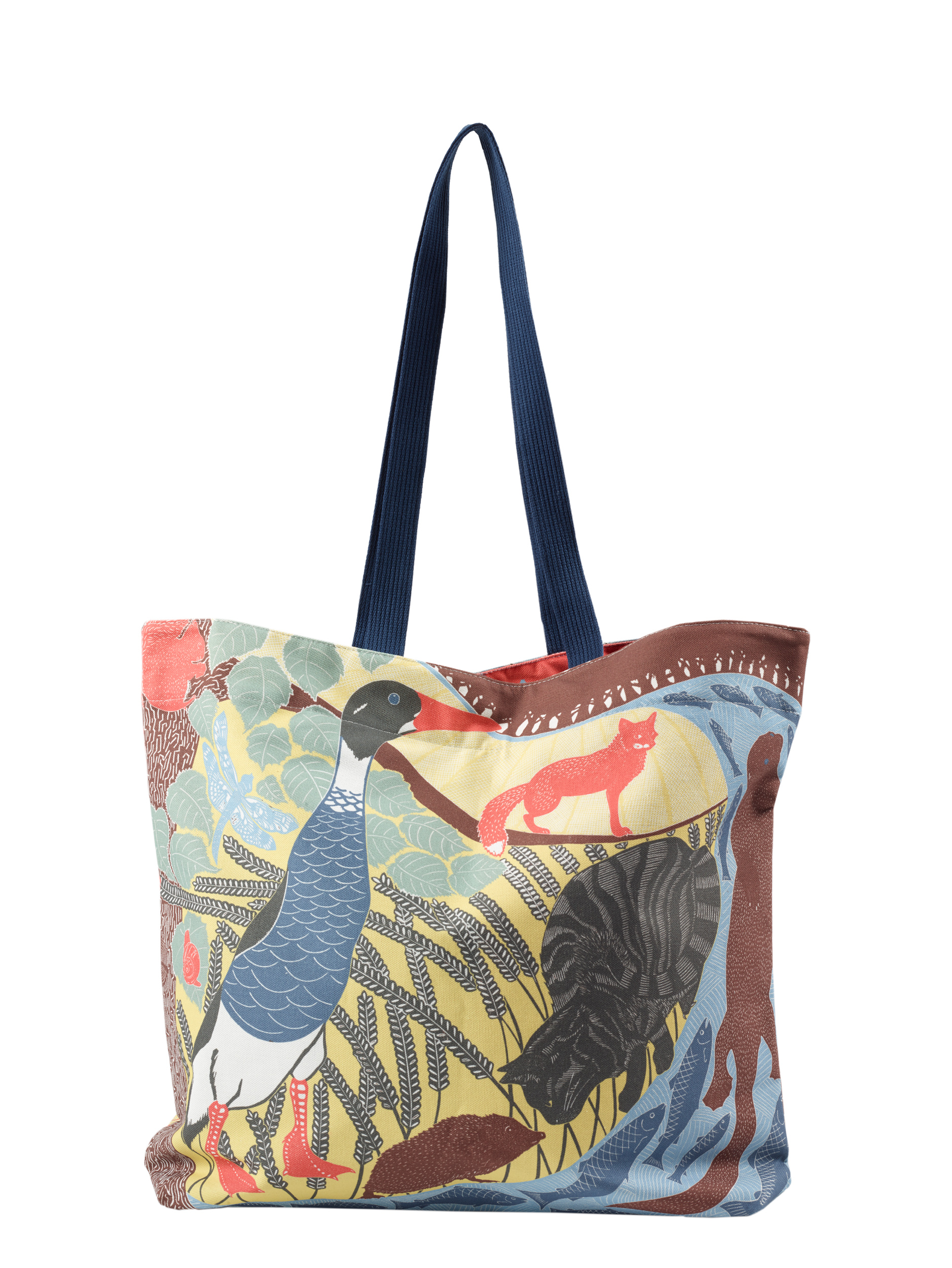 Babs Pease Illustrated Animal Tote Bag