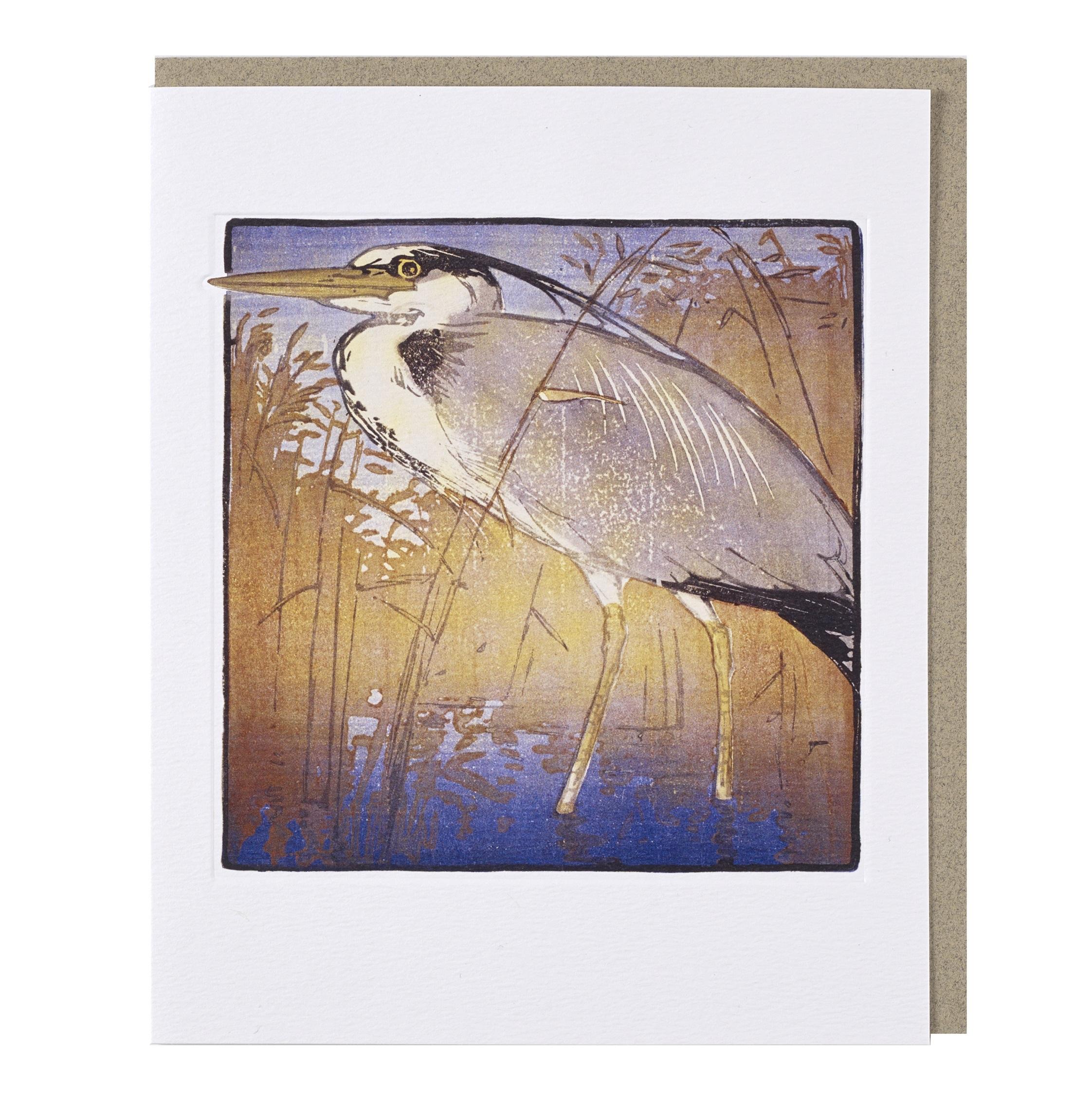 Heron Allen William Seaby Greeting Card