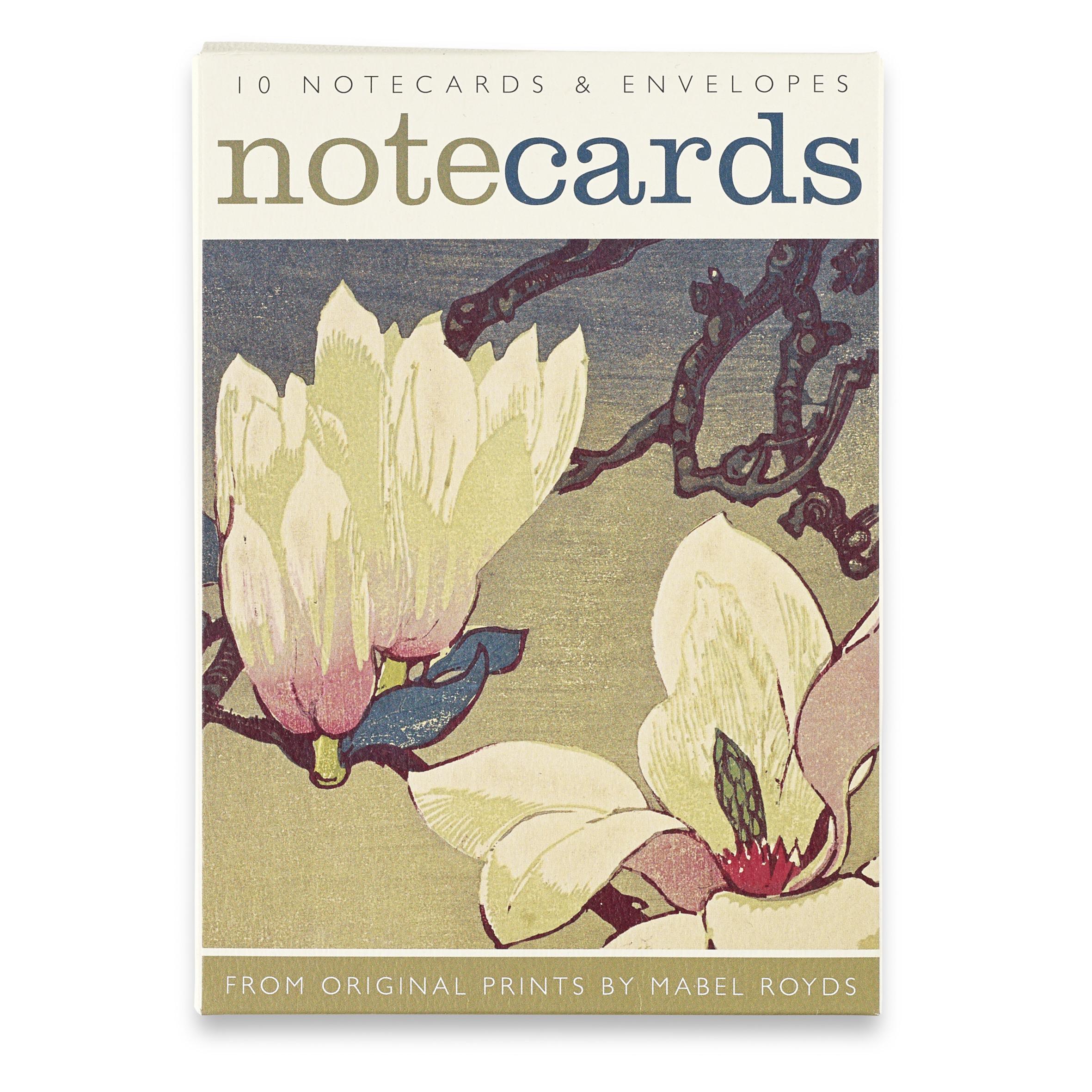 Floral Mabel Royds Notecard Set (10 cards)