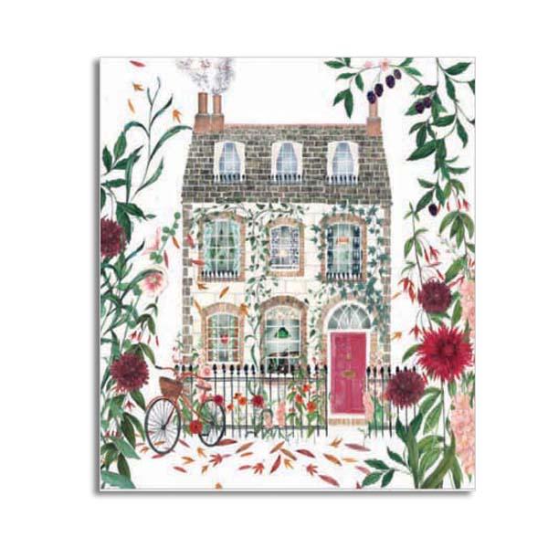 Dahlia Doll's House greeting card
