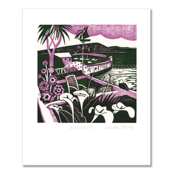 Mousehole, Cornwall greeting card