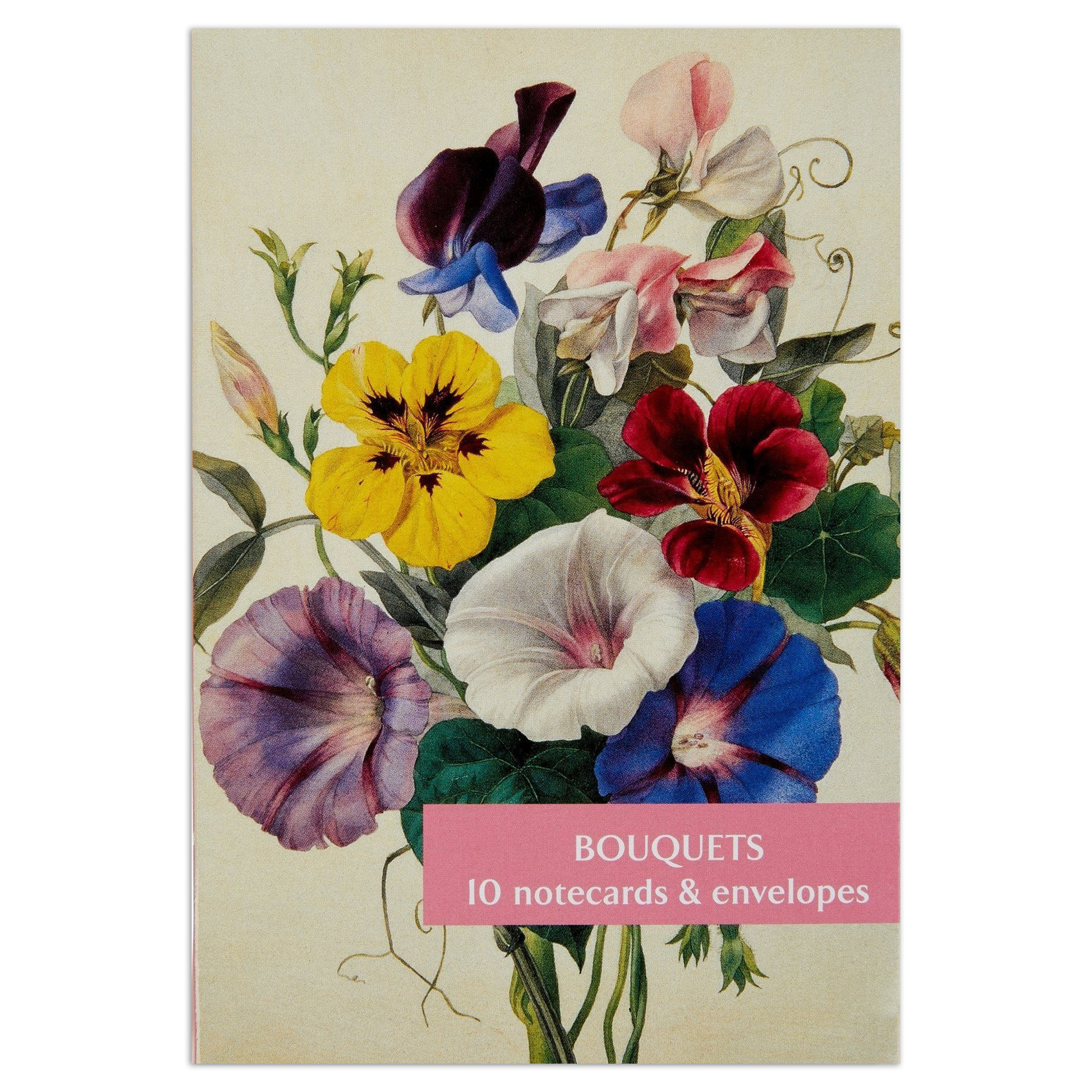 Bouquets notecard set (10 cards)