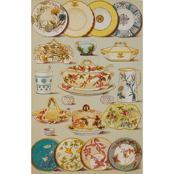 Mrs Beeton's book of household management notecard set (10 cards)
