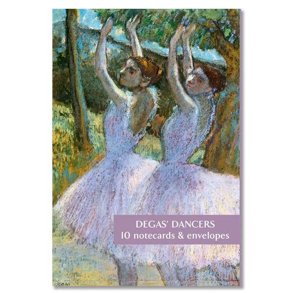 Degas dancers notecard set (10 cards)