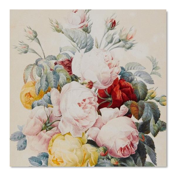 Floristry square notecard set (10 cards)