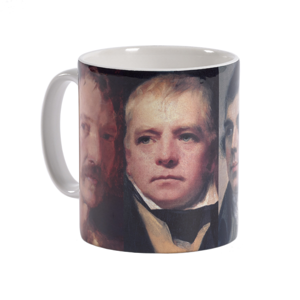 Scotland's famous writers ceramic mug