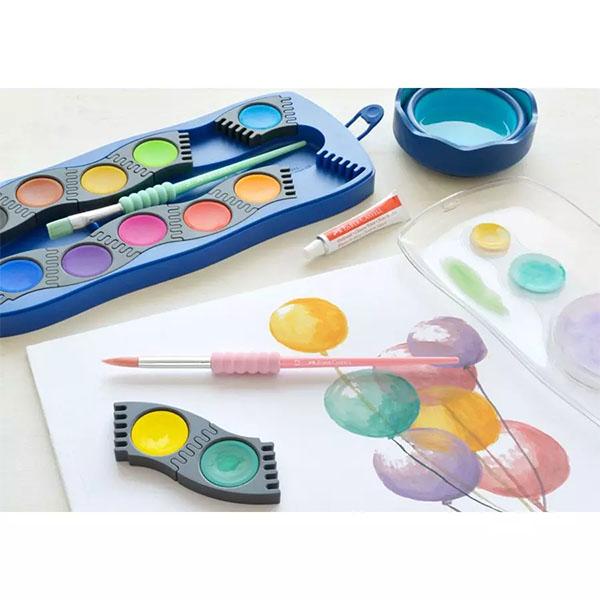 Grip pastel brush set of 4