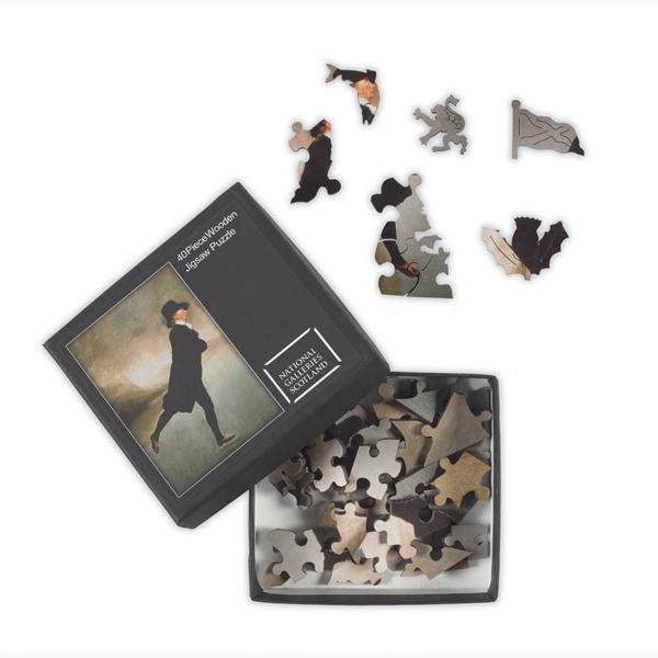 Reverend Walker (40 pieces) Wooden Jigsaw Puzzle