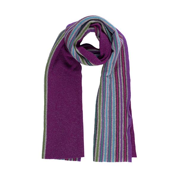 100% pure new wool Lambie calluna scarf