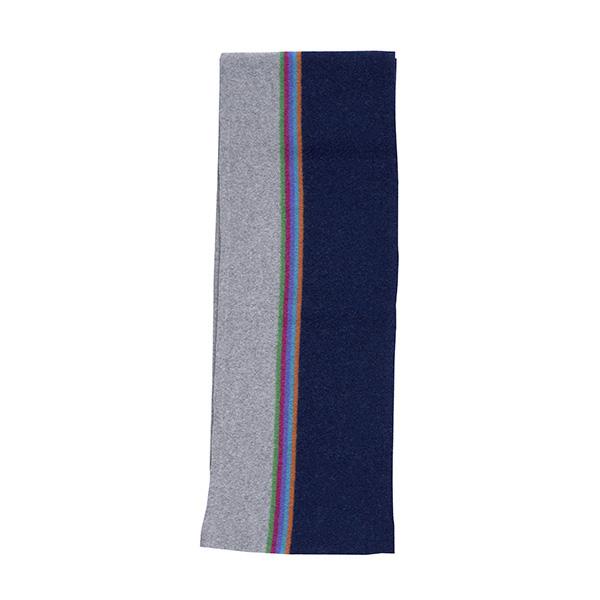 100% pure new wool maxwell midnight blue scarf