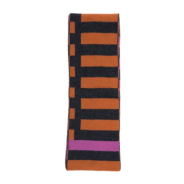 100% pure new wool Bauhaus heatwave scarf