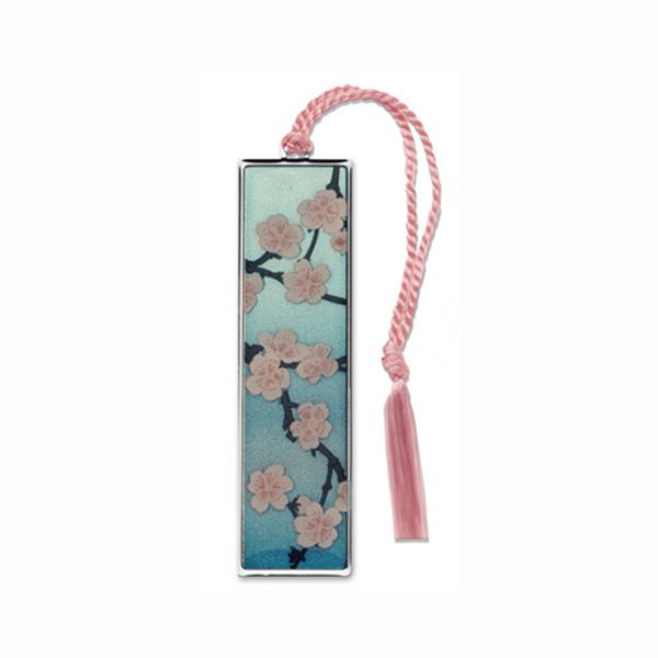 Blossom by Hiroshige brass bookmark