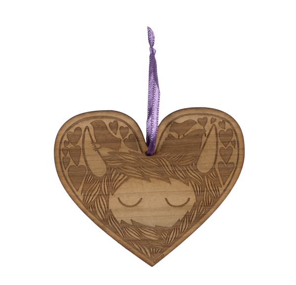 Small Stories Heelander Heart Decoration
