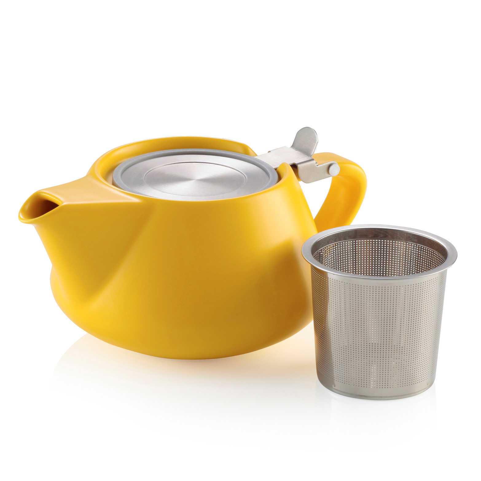 Alison Appleton Fritz Teapot Yellow