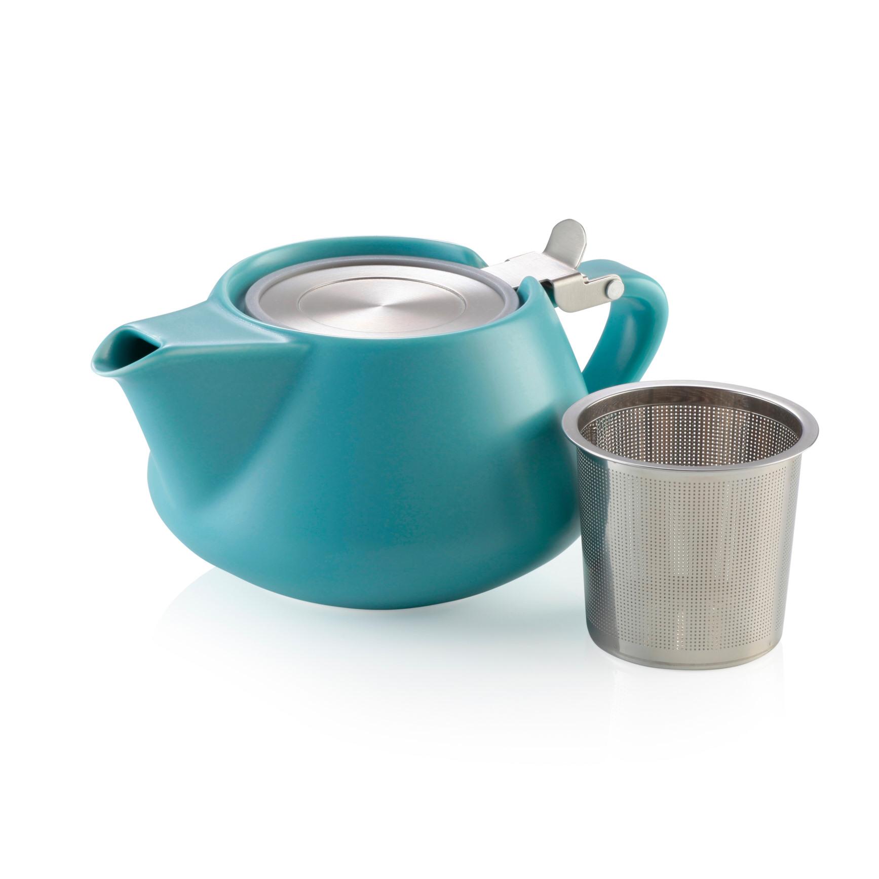 Alison Appleton Fritz Teapot Blue
